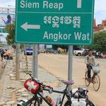 Ankunft in Siem Raep, juhui