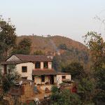 Typische Nepali-Häuser