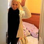 Bye, bye Mama... vielen, vielen Dank für die tolle und sehr wertvolle Zeit mit Dir in Istanbul...love you