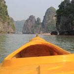 Manchmal sitzt man alleine im Boot...das heisst konkret: Freie Sicht!