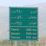Waas? Noch soo weit bis Tehran?