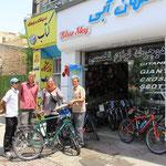 Freudiges Wiedersehen mit Wolfgang in Mashad :)