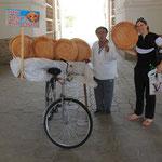 Hohlala! Brot auf Reisen...