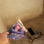 Uff Toilette gefunden...Papier auch!