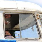 Blinder Passagier im Oberdeck?