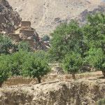 Das letzte afghanische Dorf welches ich sehe.