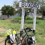 Jupii geschafft...Welcome to Buchara
