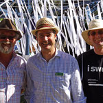 Three White Ribbon Ambassadors.