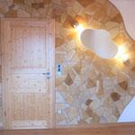 Thomas Riedl - Akzente in Naturstein. Künstlerische, individuelle Gestaltung von Gärten und Außenanlagen, GaLaBau, Naturstein verblendeter Innenbereich