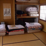 unsere traditionelle Unterkunft in Matsumoto