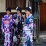 Geisha- Treffen in Kyoto