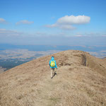 auf dem Weg zum Nakedake (Mt. Aso)