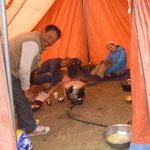 Le metre und seine Crew beim Kochen