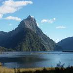 Mitre Peak - ein weltbekanntes Fotomotiv