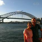 Harbour Bridge Sydney...mit Touris im Vordergrund :-)