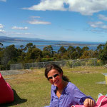 Kaffeepause auf dem Mount Nelson...