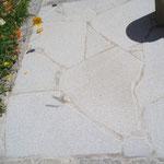 Mosaik Granit sandgestrahlt