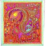 Réseaux 4 - 14cm*14cm - Markers et Ors - 2007