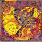 Respirale - 14cm*14cm - Markers et Ors - 2007