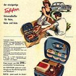 Werbepospekt von 1957 mit Radio