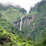 waterfall next to kalpeshvara