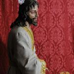 Jesús Cautivo en el abandono de sus discípulos. foto Alfonso Artero