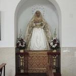 María Santísima de la Trinidad en su nueva ubicación. 23.10.2014