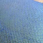 """Lachs """"Meerjungfrau"""" (Blau, schimmert von türkis-grün) (102)"""