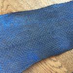 Lachs schwarz/blau metallic (40)