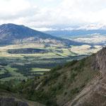 ... Beau point de vue sur la vallée de Coyhaique !
