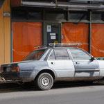 Une vieille voiture !
