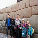 Cusco, devant les murs incas !