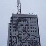 maison de la radio, portrait d'Eva Perron