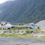 Ville de Chaitén (éruption volcan 2008)