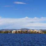 Vue sur les habitations flottantes