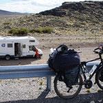 On a pas de mérite avec notre camping car ...