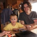 On peut jouer aux cartes en roulant !