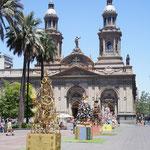 La plaza de Armas et la cathédrale