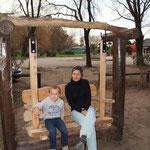 Dans un parc ...