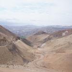 Avnt d'arriver à Arequipa ... le désert côtier !