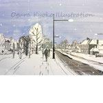 オリジナル「雪のロンドン」