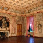 Château de Condé - Servandoni, le salon des Lumières (détail) - Condé en Brie champenoise de Picardie