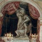 l'enlèvement de Proserpine par Pluton - Château de Condé - Condé en Brie champenoise de Picardie