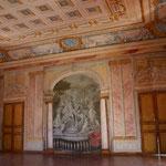 Château de Condé - Salle de Bal décorée par Servandoni (détail côté Bains d'Apollon) - Condé en Brie champenoise de Picardie - AyPR