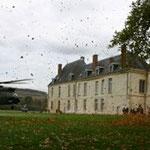 Puma et prises d'Armes - Château de Condé - Condé en Brie champenoise de Picardie