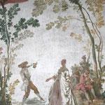 Château de Condé - Fêtes Galante d'Automne. Antoine Watteau - Condé en Brie champenoise de Picardie