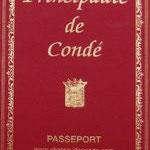 Passeport de la Principauté ;-) - Château de Condé - Condé en Brie champenoise de Picardie