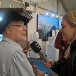 Interview mit Radio Seefunk auf der OSS in Ravensburg 2017