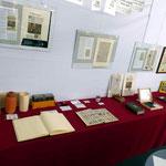 Diverse Exponate zeigen die Entwicklung der Druckkunst über die Jahrhunderte