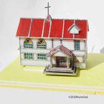 ミニチュアハウス(教会)3